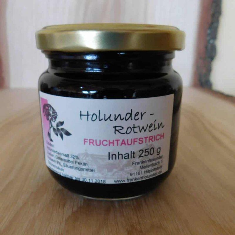 Fruchtaufstrich Holunder-Rotwein
