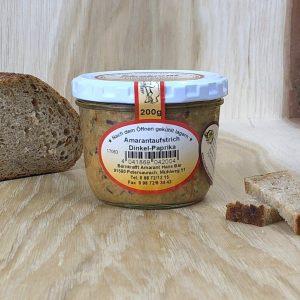 Amrantaufstrich Dinkel-Paprika