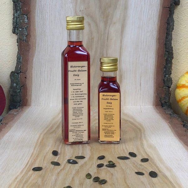 Blutorangenfrucht Balsam Essig