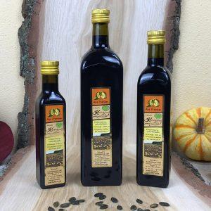 Kürbiskernöl aus fränkischem Anbau
