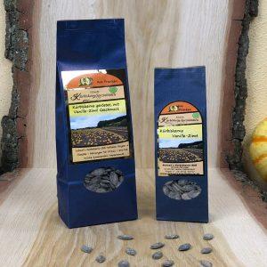 Kürbiskerne - geröstet Vanille-Zimt