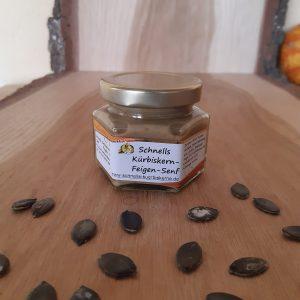 Kürbiskern-Feigen-Senf