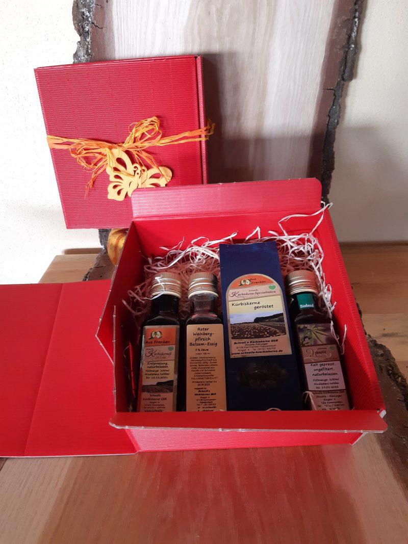 Geschenkbox Salatfans