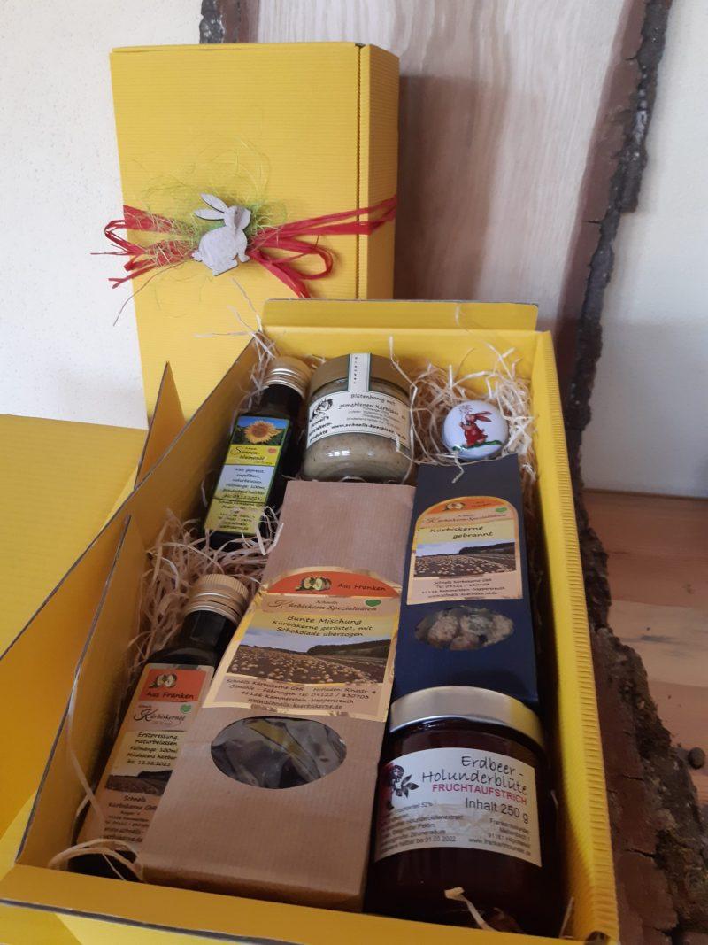 Geschenkbox Osterhase