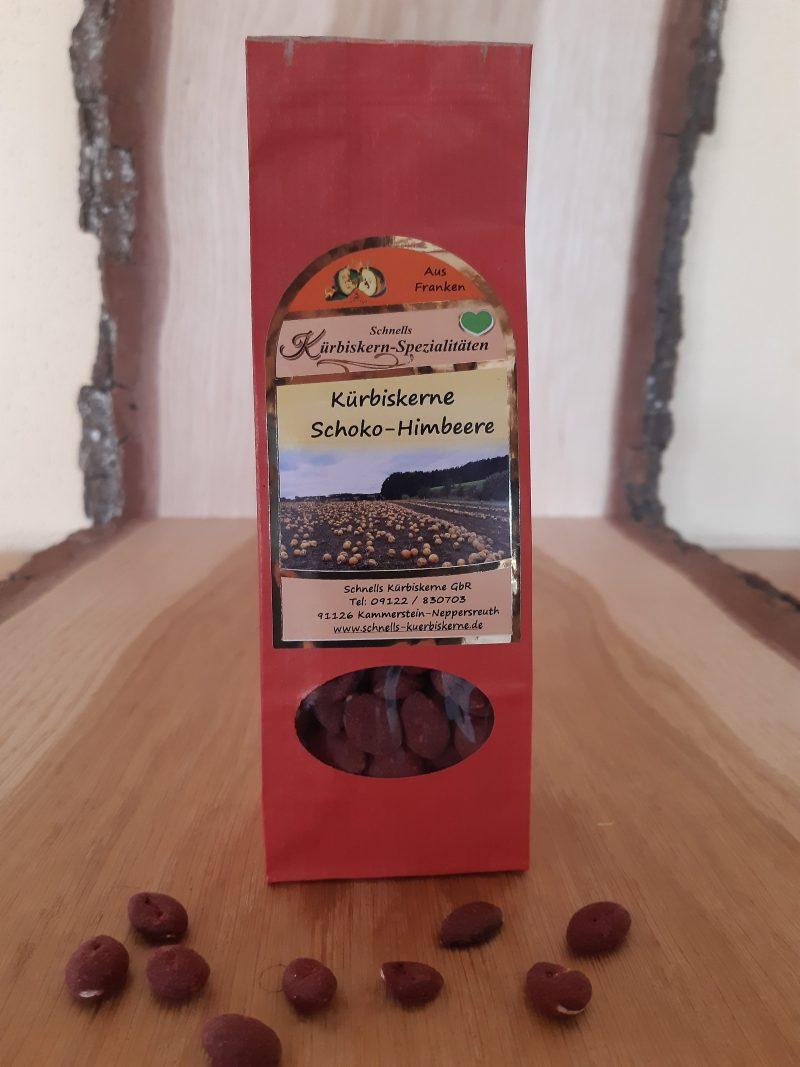 Kürbiskerne Schoko-Himbeere