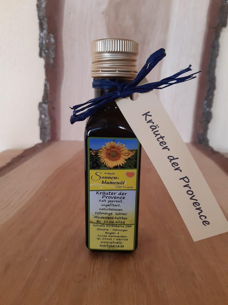 Sonnenblumenöl Kräuter der Provence