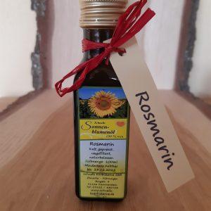 Sonnenblumenöl mit Rosmarin