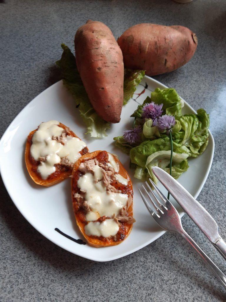 Bioland Süßkartoffeln aus eigenem Anbau